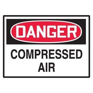 Accuform Signs Lchl149vsp Label Dgr Compressed Air 3.5x5 Adh Vnl 5/pk