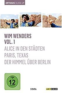 Wim Wenders - Arthaus Close-Up, Vol. 1 ( Alice in den Städten / Paris, Texas / Der Himmel über Berlin ) [3 DVDs]