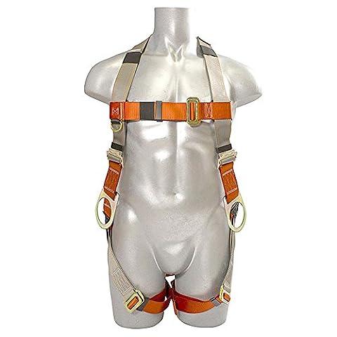 Madaco Dachbau Fallschutz Heavy Duty Full Body Industrial Safety Harness Größe M-XXL ANSI OSHA H-TB205B