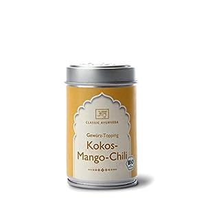 Classic Ayurveda – Bio Kokos Mango Chili Gewürz-Topping, 1er Pack (1 x 60g) – BIO