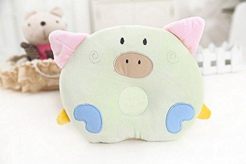 Preisvergleich Produktbild Meta-U Baby Kopfkissen, Schweinchen-Design