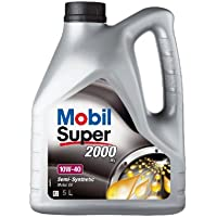 Mobil 1 150563 Premium Motor Oil Super 2000 X1 10W-40, 5 litri