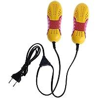 Xuniu Plug Race Car Shape Zapato Ligero Secador de pies Protector de olores Desodorante para Dispositivos Zapatos Calentador del secador