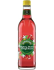 Robinsons Fruit Cordials Raspberry, Rhubarb and Orange Blossom, 500 ml