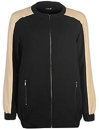 Firetrap LL Bomber jacket Womens Black/Cream Jacket Coats Outerwear