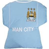 Manchester City FC Niños/Niños Oficial Camiseta De Fútbol Amortiguador - Azul ...