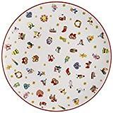 Hutschenreuther Christmas Memories de 40años con Ole WINTHER Platos Llanos, porcelana, multicolor, 28x 28x 3cm