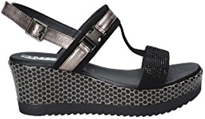 Gentiluomo   Signora GRACE scarpe 50299 Sandalo Zeppa Donna Aspetto elegante Materiali selezionati Boutique preferita | Ordine economico  | Scolaro/Ragazze Scarpa