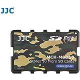 Étui pour Cartes Mémoire - Adapté pour 10 x cartes microSD, microSDHC ou microSDXC (Camouflage)