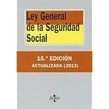 Ley General De La Seguridad Social (Derecho - Biblioteca De Textos Legales)