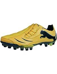 Puma PowerCat 1.10 Synth Grass Herren Lederfußballschuhe - gelb