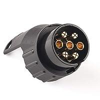12V Tow Socket Car Trailer Truck 7 Pin to 13 Pin Plug Adapter Converter🌵