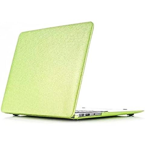 Patrón de seda impresión Ultra Slim Carcasa, Top and Bottom plástico duro portátil Peso Ligero para Apple MacBook Air de 11,6