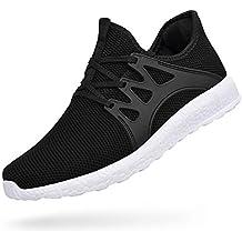 ZOCAVIA Herren Damen Sneaker Running Laufschuhe Sportschuhe Rutschfeste  Sneaker c572fdc0b0