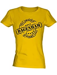 Made In Dagenham - Ladies Fitted T-Shirt T Shirt Tee Top