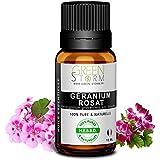 Huile essentielle de géranium rosat - 100% pure et naturelle - HEBBD - Green-storm - 10 ML