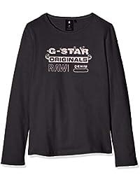 G-STAR RAW Sp10545 LS tee Camiseta de Manga Larga para Niñas