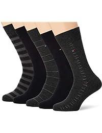 TOMMY HILFIGER 5 Pack Sharp Stripes Giftbox Socks