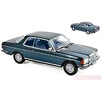 NOREV NV183589 Mercedes 280 CE 1980 Blue Metallic 1:18 MODELLINO Die Cast Model