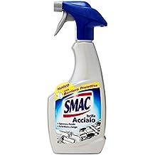 Smac Spray Brilla Acciaio e Sgrassatore - 500 ml