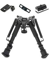 JINSE 6''-9'' Zoll Tactical Zweibein Luftgewehr Gewehr Gun Jagd Sniper Profil höhenverstellbar Zweibein mit Picatinny Schiene
