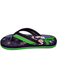Ben10 Boy's Flip-Flops and House Slippers (3, Red)