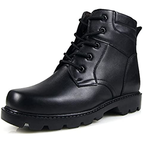 LYF KIU Scarpe uomo/Inverno primo strato di stivali da uomo