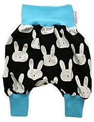 """bébé Pantalon bouffant """"Bunny"""" Pantalon pour bébé Pantalon jersey Sarouel de Petit Rois"""