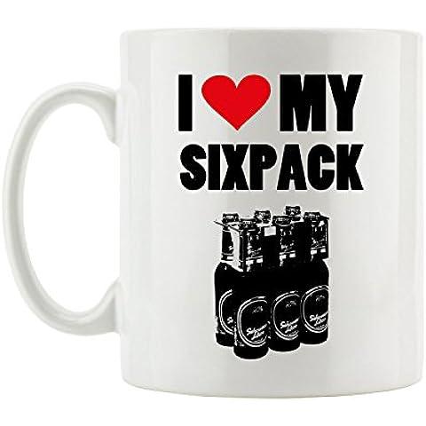 pixxp RINT ta _ flove1869i love my Sixpack Beer Fun tazza - Love Beer