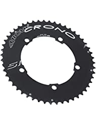 Miche PLCR13553-Plato para bicicleta 5 unidades, 135 mm, color negro