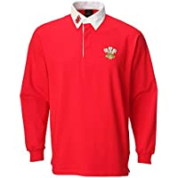 WelshSuperstore T-shirt rugby traditionnel Junior rouge Rouge 7-8year/MB