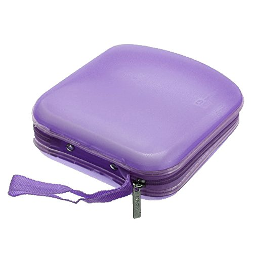 niceeshoptm-40-capacity-zipper-vcd-disc-case-storage-bag-cd-dvd-binder-purple