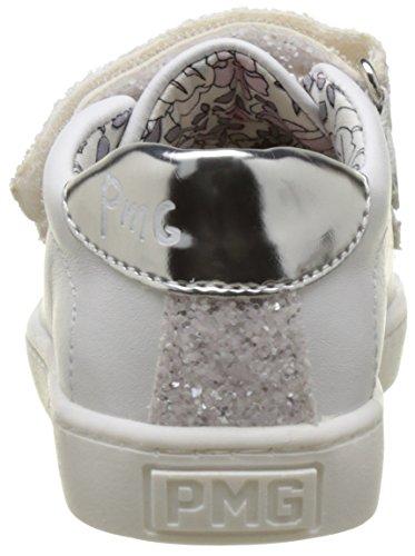 Primigi Pgl 7166, Baskets Basses Fille Blanc (Bianco/Bianco)
