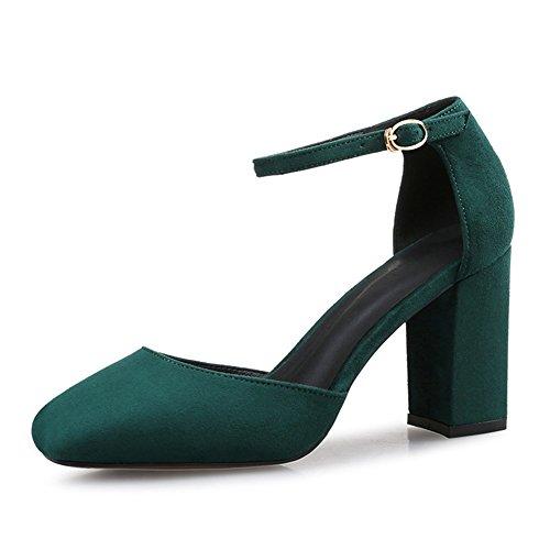 XTIAN , Escarpins femme Vert