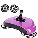 SAOBA Mano creadora-Escoba Pala para Recoger Basura Robot Aspirador doméstico de Limpieza de Polvo del Suelo Sweeper Barrer máquina Inicio CleanTools, púrpura