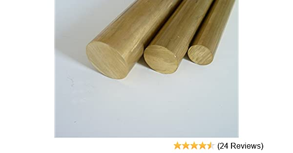 Messingstange auf Zuschnitt L: 125mm 12,5cm Messing Rundstange Ms58 /Ø 12mm