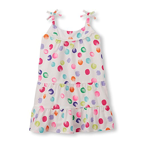 The-Childrens-Place-Girls-Sleeveless-Polka-Dot-Dress