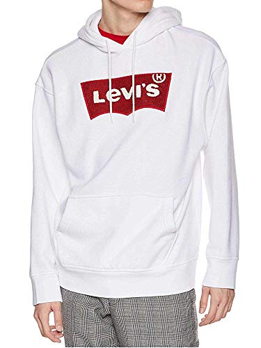 Levis Sweat Levis 56629 Oversized Pull Hoodie Blanc H S