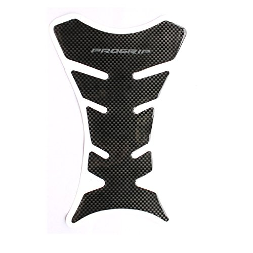 Fashion Design Motorbike Tank Pad Protector Motorcycle Scratch Pad Carbon Fibre Effect Self Adhesive Black