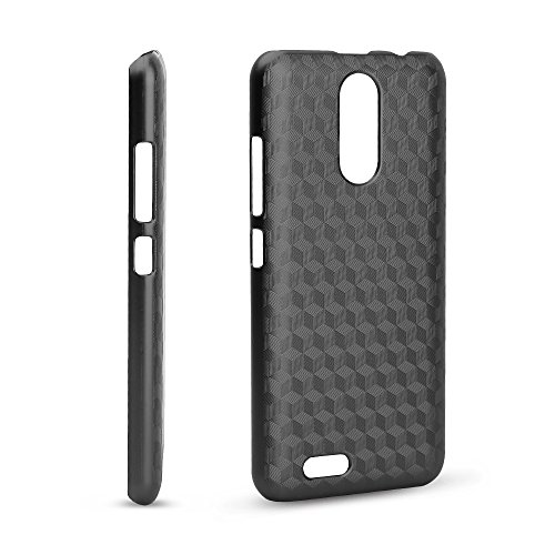KuGi Oukitel C8 Hülle, Hochwertiger ultradünne Frosted [Stoßfest][Anti-Scratch][Schlank Passen][Anti - Wrestling] PC Schutzhülle Hülle für Oukitel C8 Smartphone.Schwarz