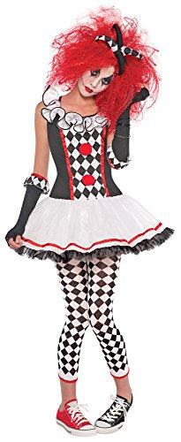 Harlekin Honey Kostüm für Damen - Gr. (Kleid Marionette Kostüm)