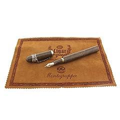 Idea Regalo - Stilografica MONTEGRAPPA Limited Edition CIGAR 1997 (la penna non è mai stata utilizzata e ha tutta la documentazione)