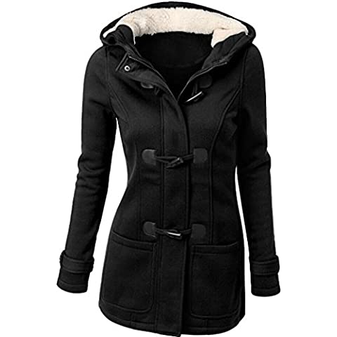 donne outwear, FEITONG giacca a vento trincea sottile lungo cappotto