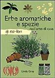 Erbe aromatiche e spezie nell'orto