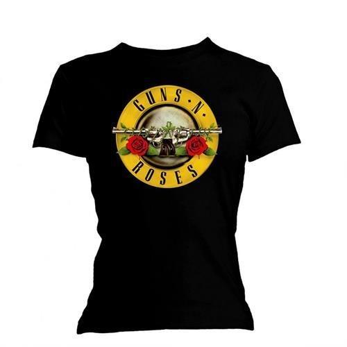 Universal Music Shirts Guns N' Roses - Logo 0904944 Unisex - Erwachsene Shirts/T-Shirts, Schwarz (Black), 42/44