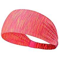 TREESTAR Unisex Sport Stirnband Antibakteriell Schnell Trocknend Feuchtigkeit Wicking Elastische Anti- Rutsch Atmungsaktiv Sichere Stretch Schweißband für Outdoor Sport Training Wandern Reisen