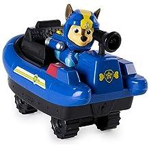 Paw Patrol: Sea Patrol – Chase – Figura & Embarcaciones de La Patrulla Canina