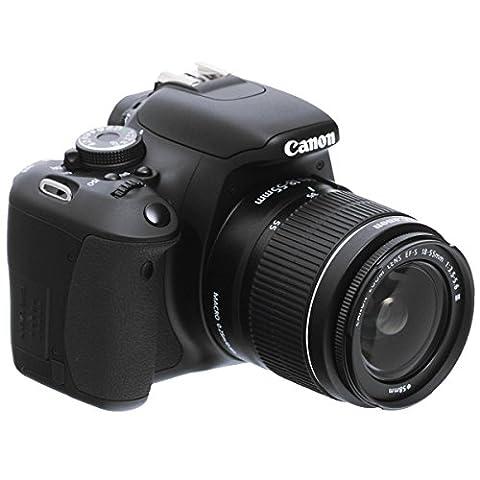 Canon EOS 600D Appareil photo numérique Reflex 18 Mpix Kit Objectif 18-55mm IS II Noir
