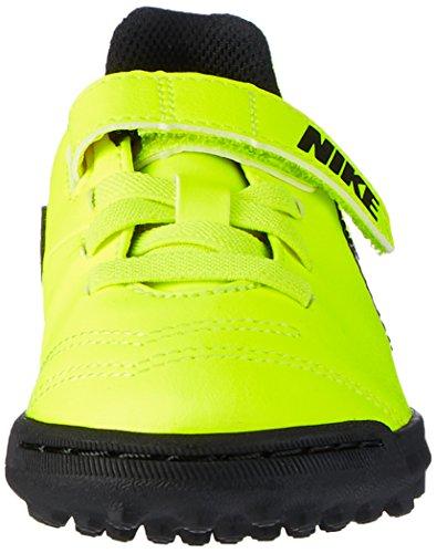 Nike Jr Tiempox Rio Iii (V) Tf, Scarpe da Calcio Unisex – Bambini Giallo (Vert Volt/black-vert Volt)