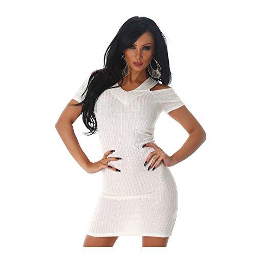 Jela London - Robe - Femme Weiß